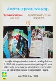 Revista ACISGA 35 anos!