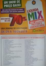 LIQUIDAMIX 09 A 14 DE SETEMBRO 2019